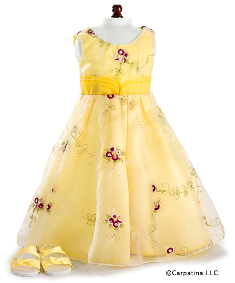 American Girl Doll Holiday Gowns in Stock at Trendy Dolls.